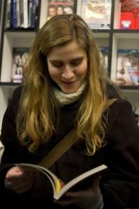 Marjolaine Gout sourit !