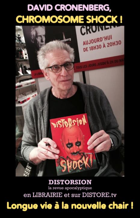 David Cronenberg et Distorsion