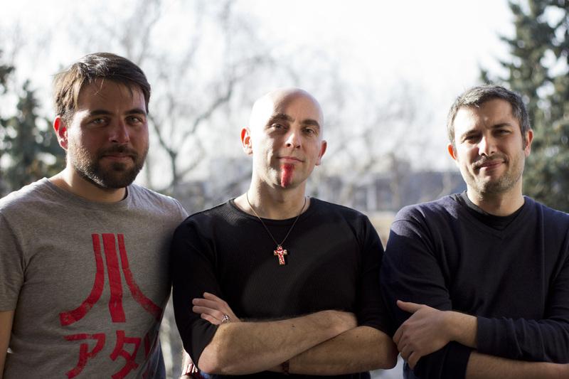 Pierre Champleboux, Rurik Sallé et Laurent Fénoglio