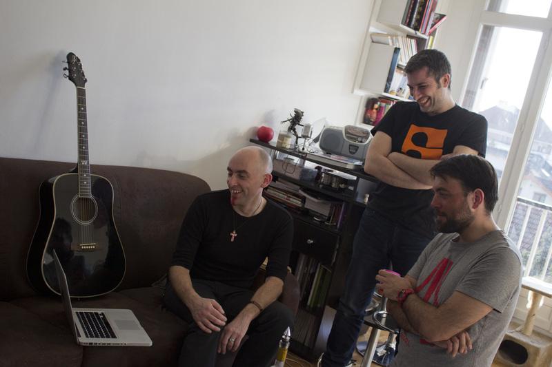 Rurik, Laurent et Pierre