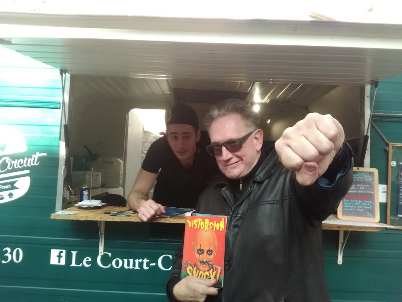 Benoît Délépine au Food Truck Court-Circuit