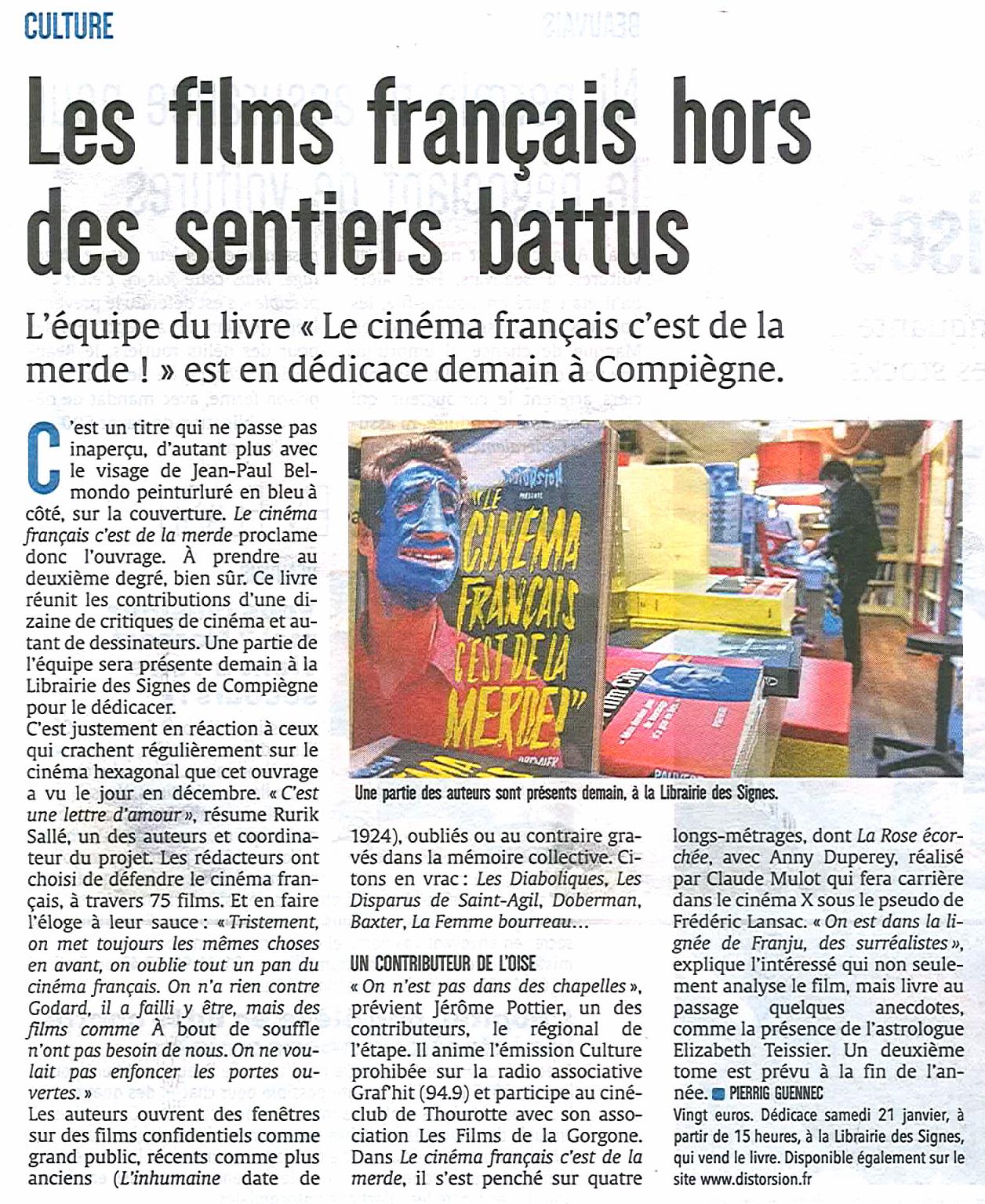 Le Courrier picard 20 01 2017