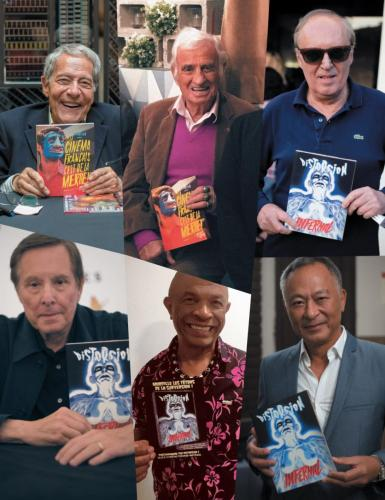 "Alain Jessua, l'ami Jean-Paul, Dario Argento, William Friedkin, Francky ""vas-y"" Vincent, et Johnnie To"