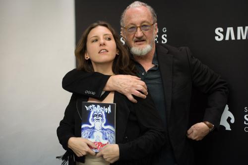 Aude Boutillon & Robert Englund